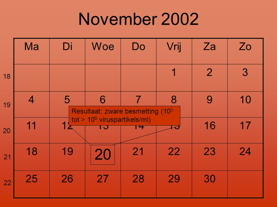 November 2002 20 Ma Di Woe Do Vrij Za Zo 1 2 3 4 5 6 7 8 9 10 11 12 13
