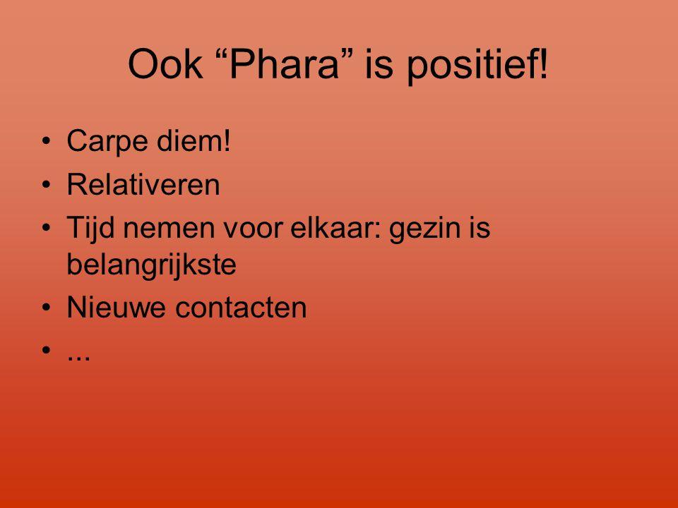 Ook Phara is positief!