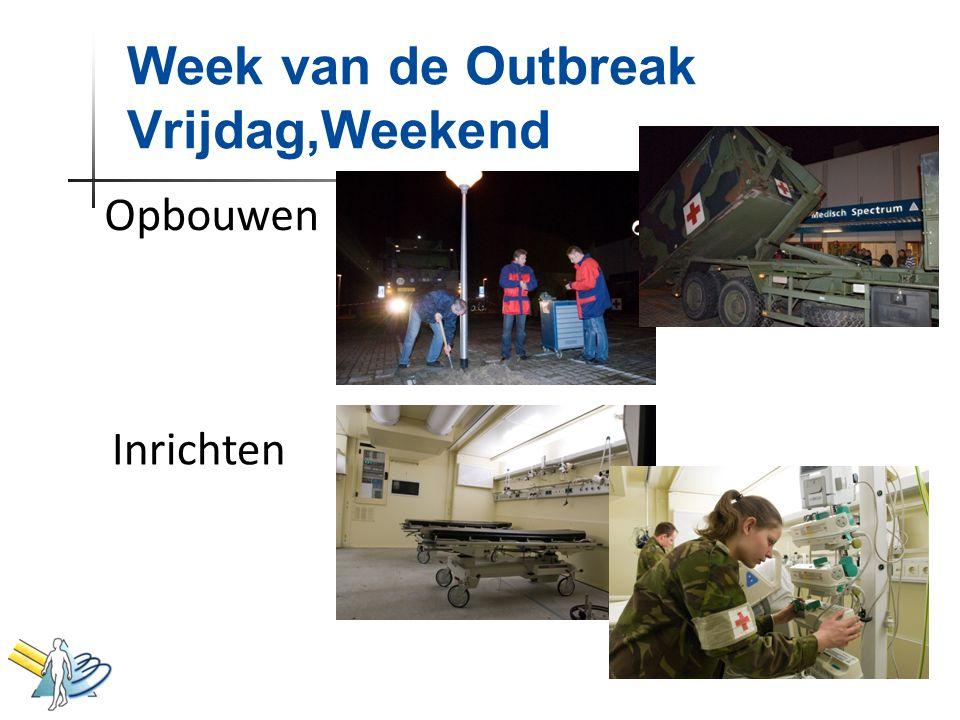 Week van de Outbreak Vrijdag,Weekend Opbouwen Inrichten