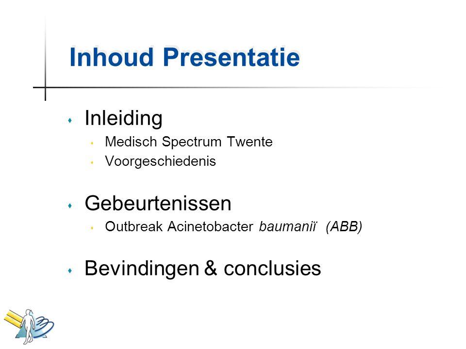 Inhoud Presentatie Inleiding Gebeurtenissen Bevindingen & conclusies