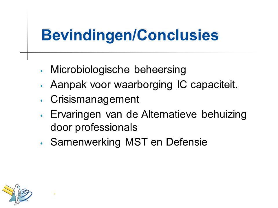 Bevindingen/Conclusies
