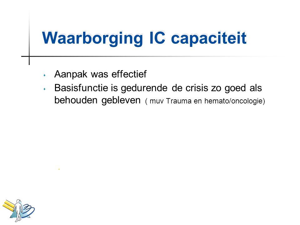 Waarborging IC capaciteit