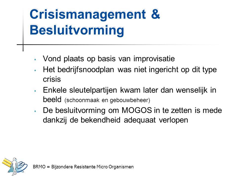 Crisismanagement & Besluitvorming