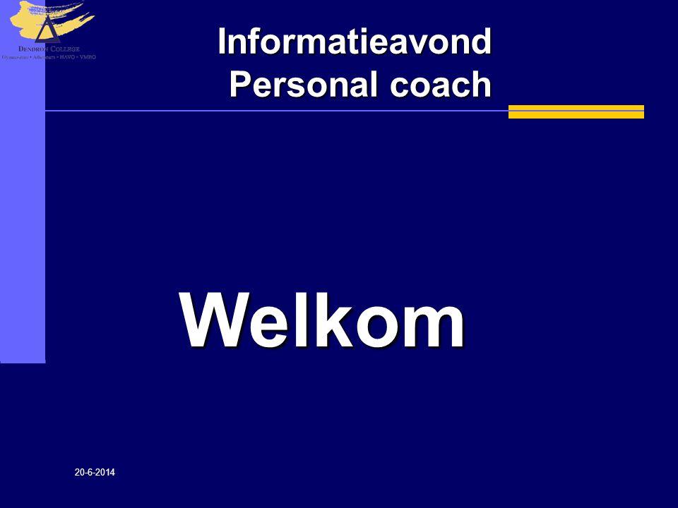Informatieavond Personal coach