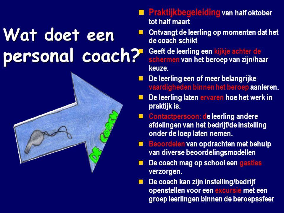 Wat doet een personal coach