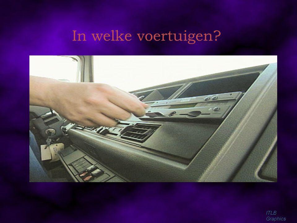 In welke voertuigen ITLB Graphics