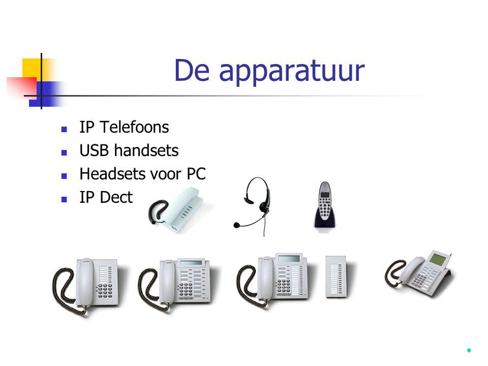 IP Telefoons USB handsets Headsets voor PC IP Dect