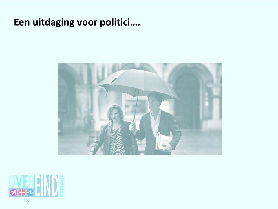 Een uitdaging voor politici….
