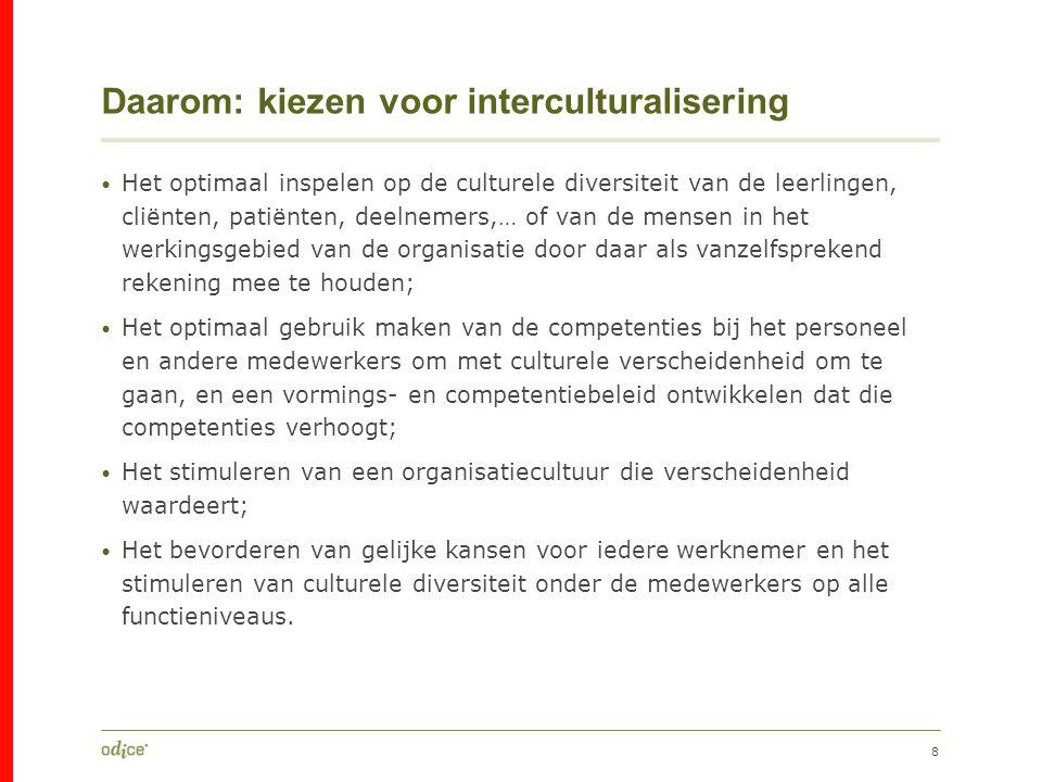 Daarom: kiezen voor interculturalisering