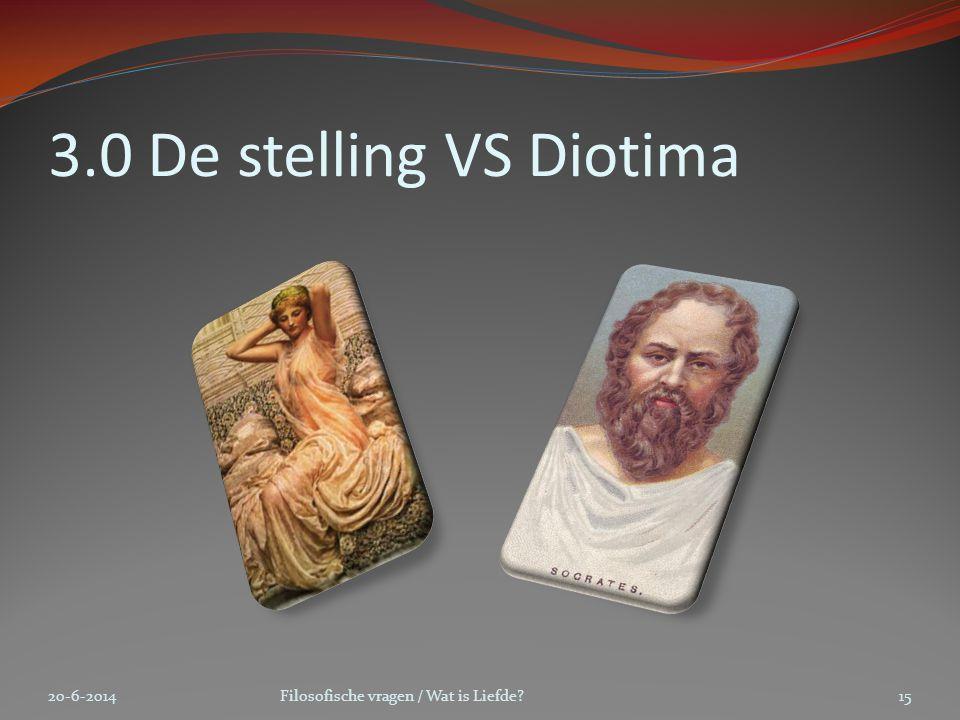 3.0 De stelling VS Diotima 2-4-2017