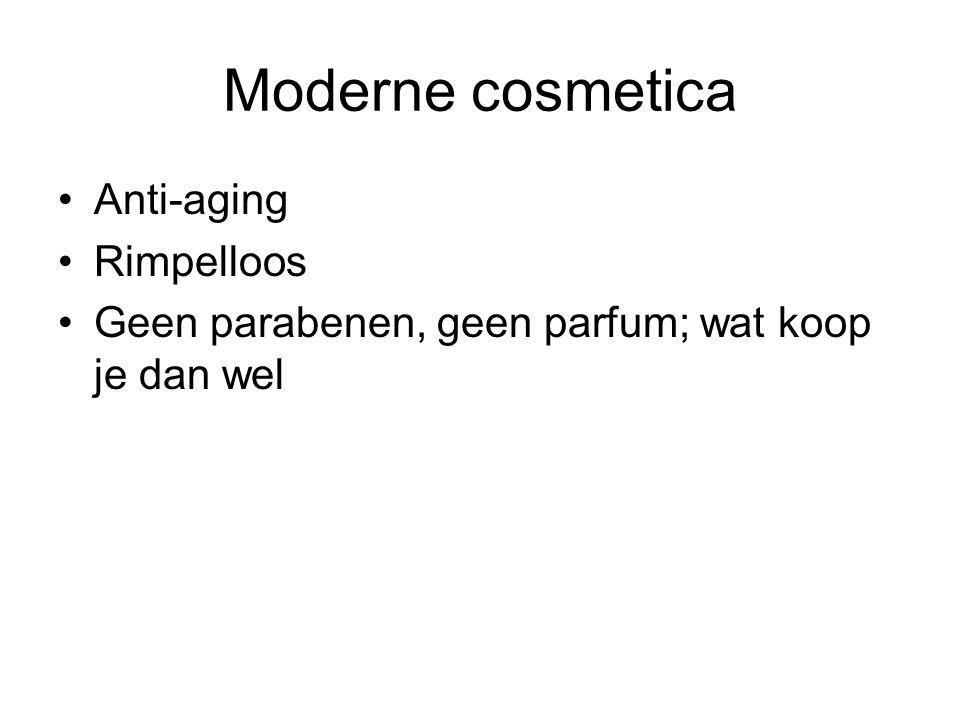 Moderne cosmetica Anti-aging Rimpelloos