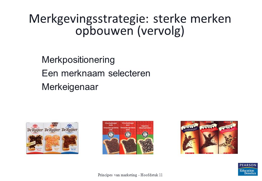 Merkgevingsstrategie: sterke merken opbouwen (vervolg)