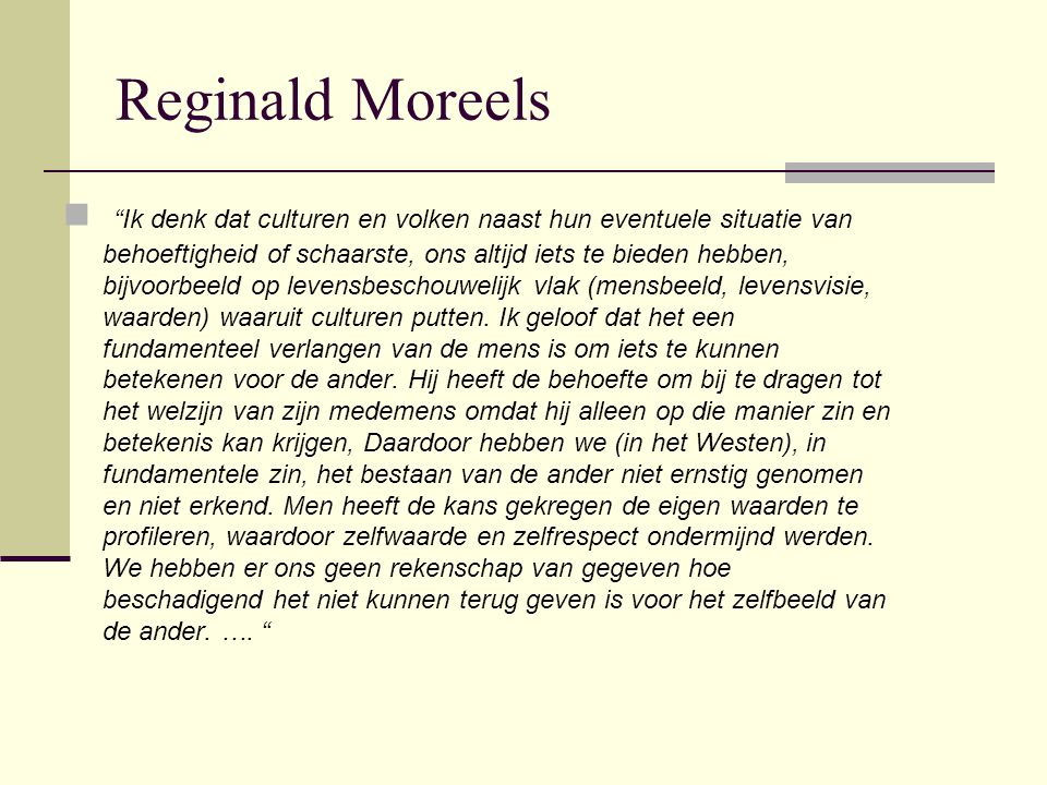 Reginald Moreels