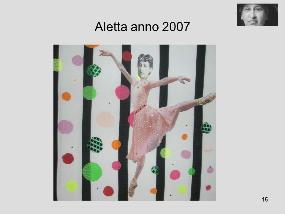 Aletta anno 2007