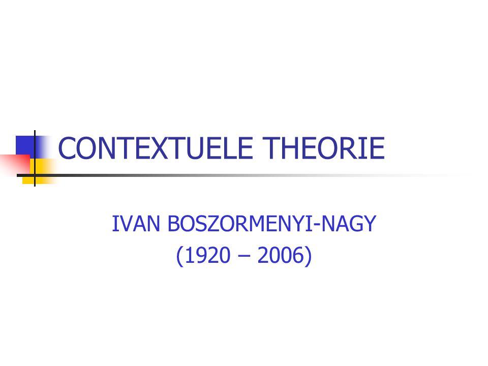 IVAN BOSZORMENYI-NAGY (1920 – 2006)