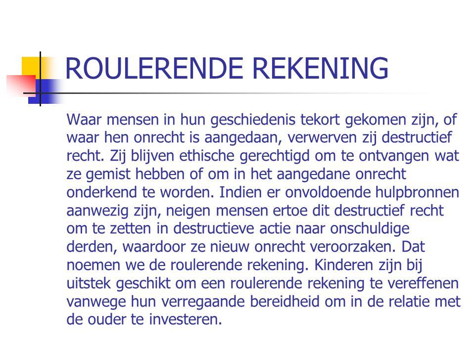 ROULERENDE REKENING