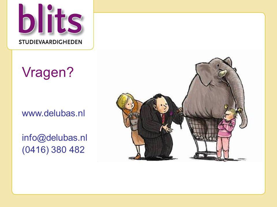 Vragen www.delubas.nl info@delubas.nl (0416) 380 482