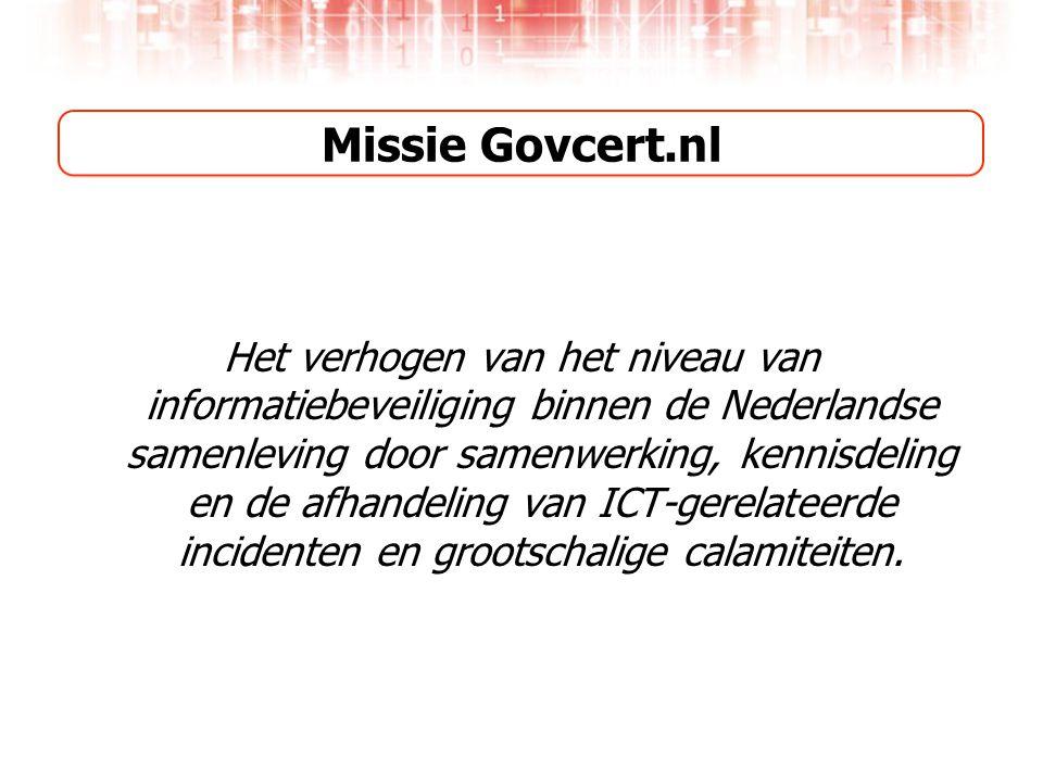 Missie Govcert.nl