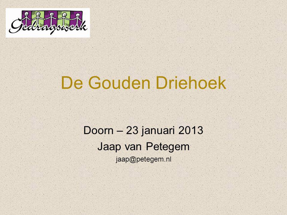 Doorn – 23 januari 2013 Jaap van Petegem jaap@petegem.nl