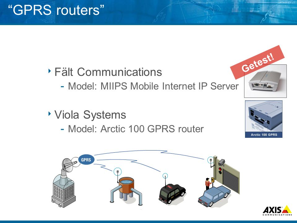 GPRS routers Fält Communications Viola Systems Getest!