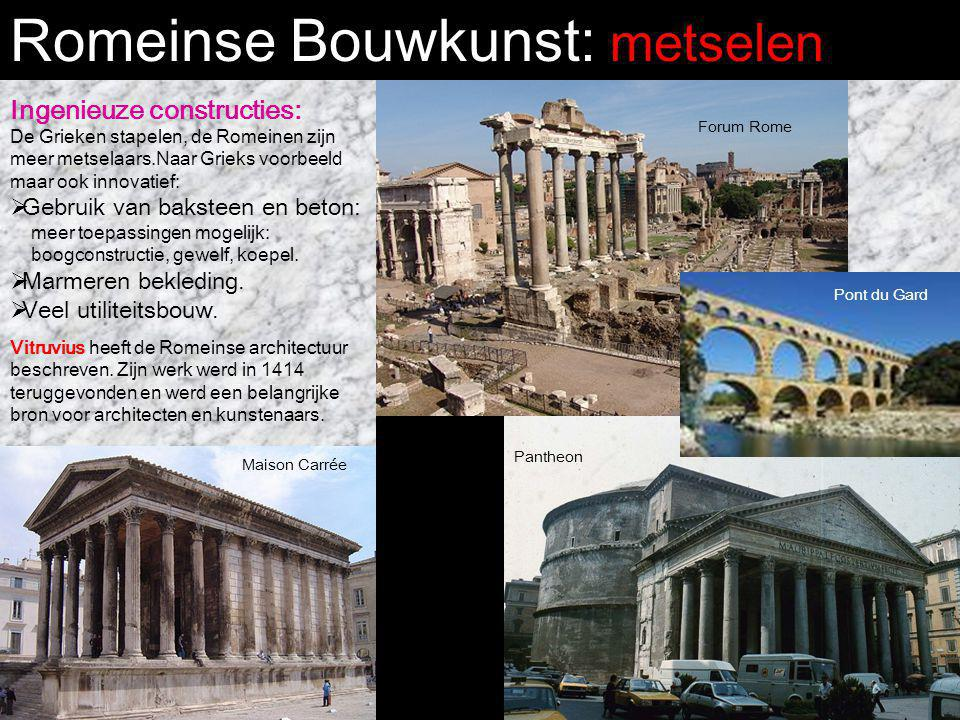 Romeinse Bouwkunst: metselen