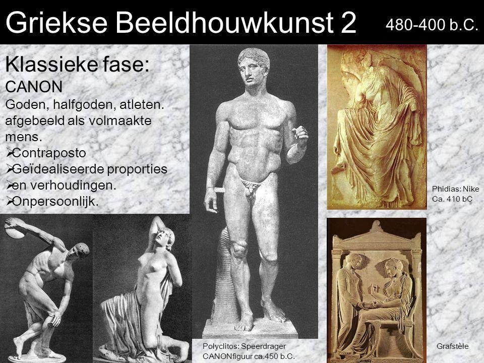 Griekse Beeldhouwkunst 2