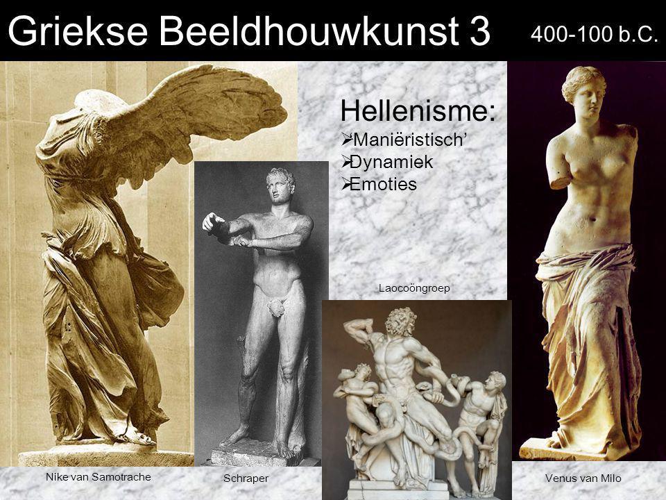 Griekse Beeldhouwkunst 3