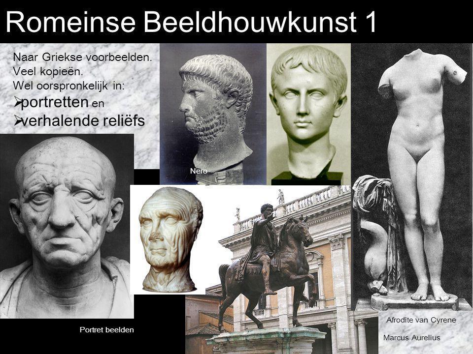 Romeinse Beeldhouwkunst 1
