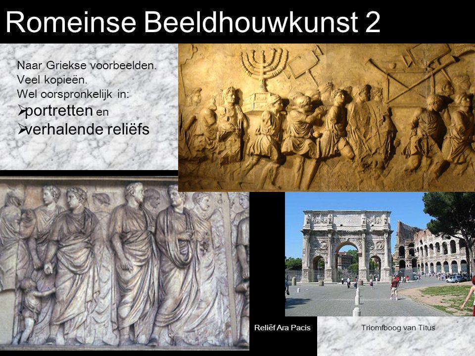 Romeinse Beeldhouwkunst 2