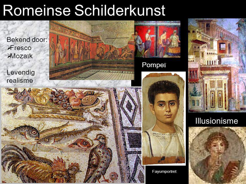 Romeinse Schilderkunst