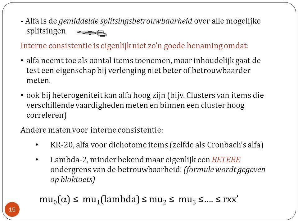 mu0() ≤ mu1(lambda) ≤ mu2 ≤ mu3 ≤…. ≤ rxx'