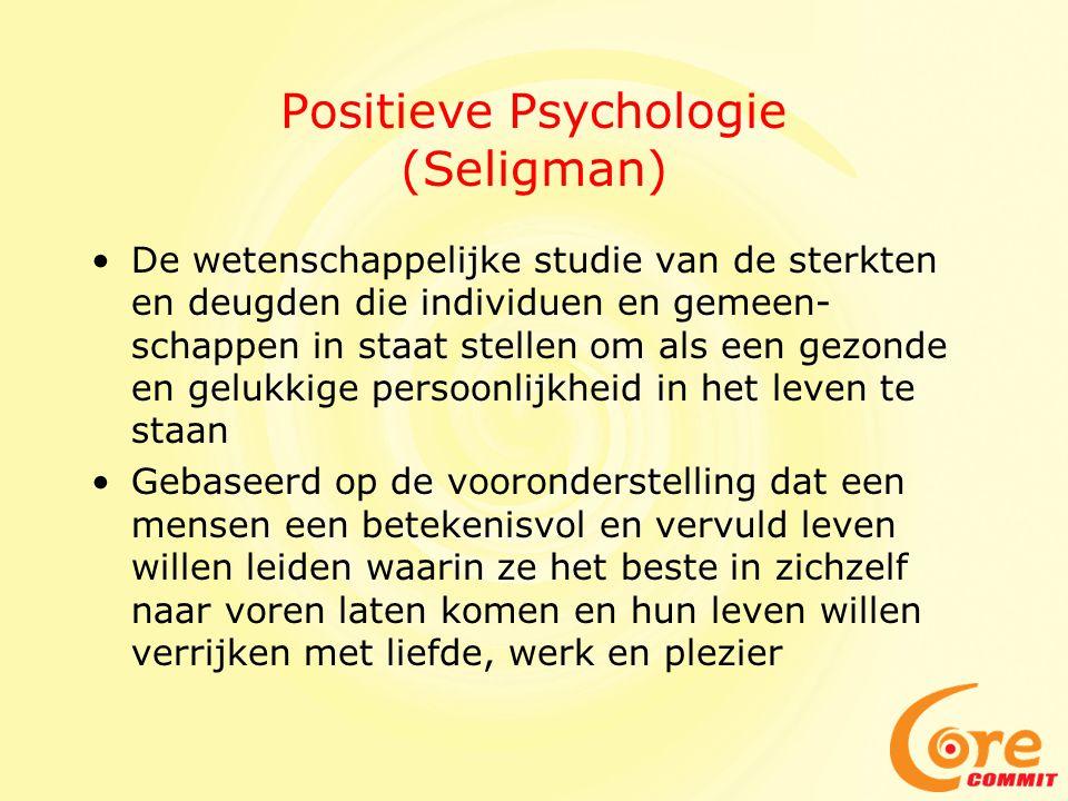 Positieve Psychologie (Seligman)