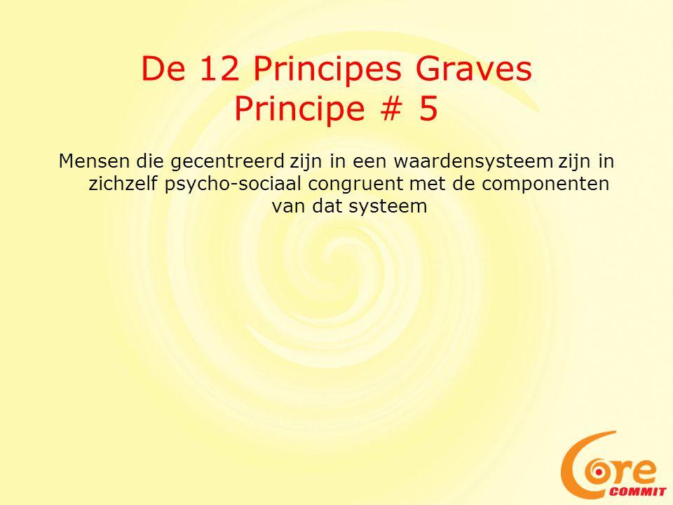 De 12 Principes Graves Principe # 5