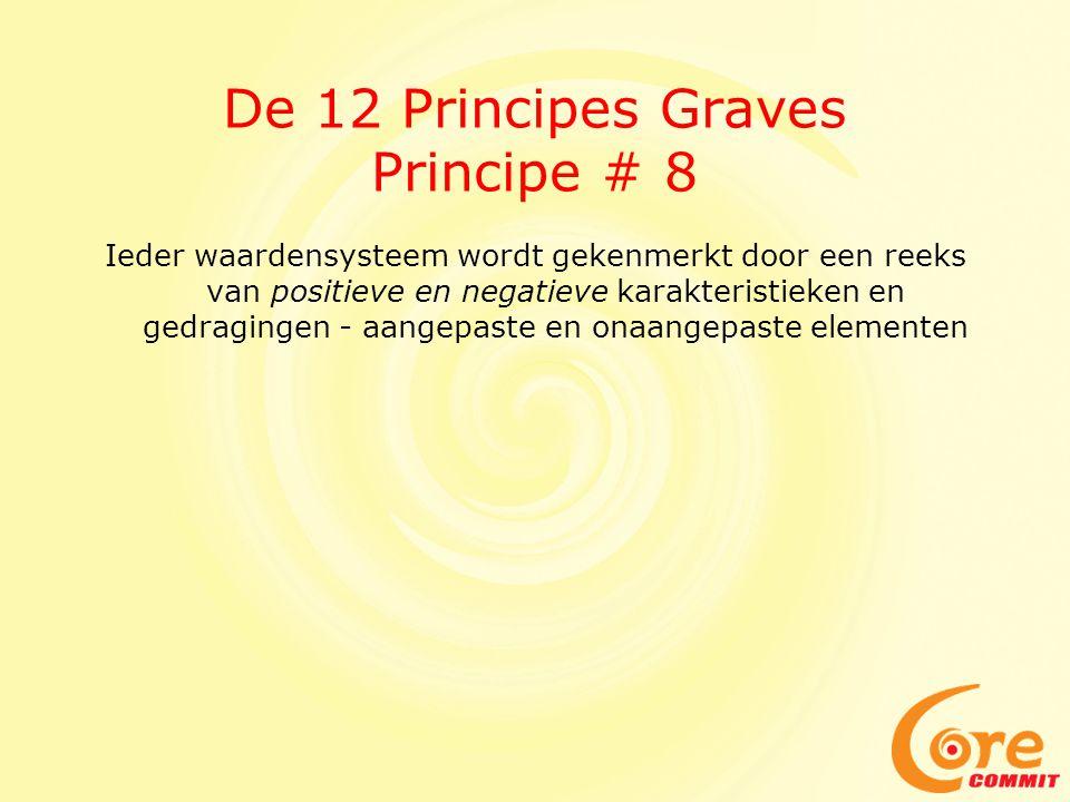 De 12 Principes Graves Principe # 8