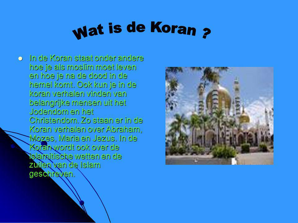 Wat is de Koran