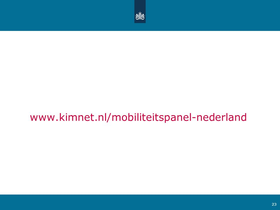 www.kimnet.nl/mobiliteitspanel-nederland