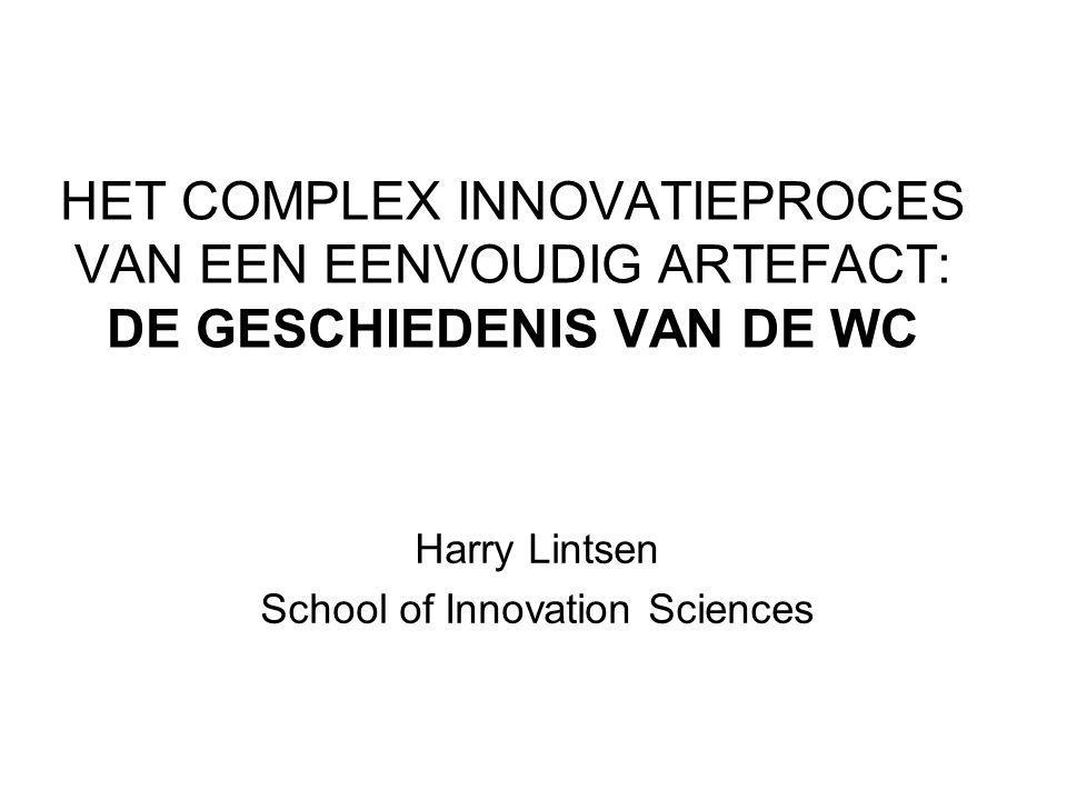 Harry Lintsen School of Innovation Sciences