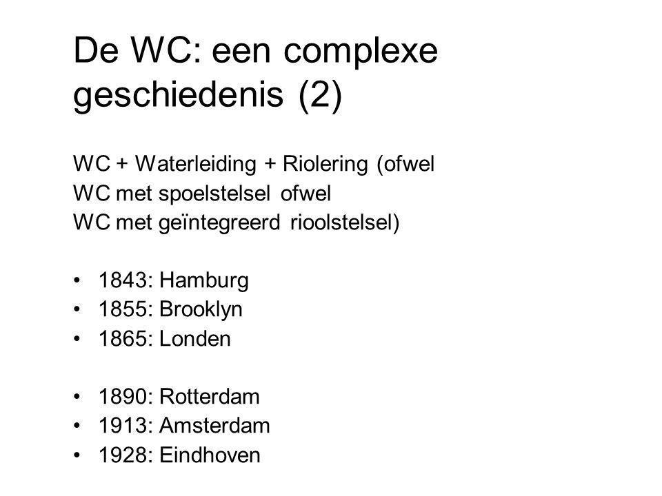 De WC: een complexe geschiedenis (2)