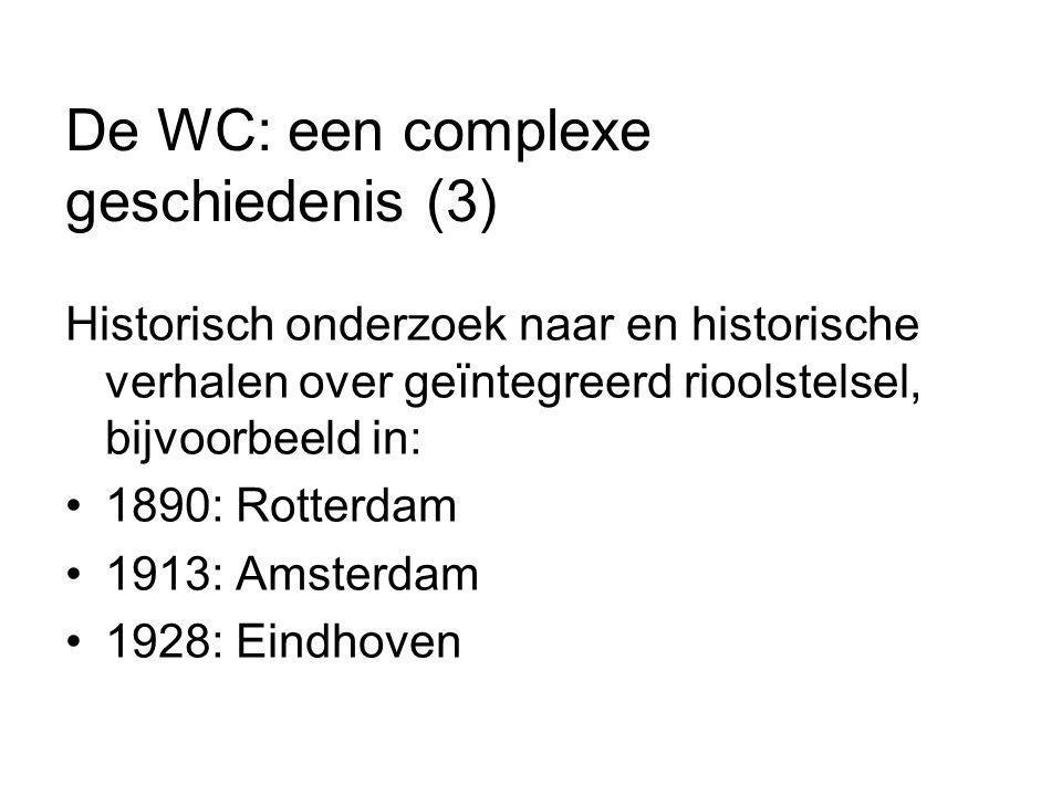 De WC: een complexe geschiedenis (3)
