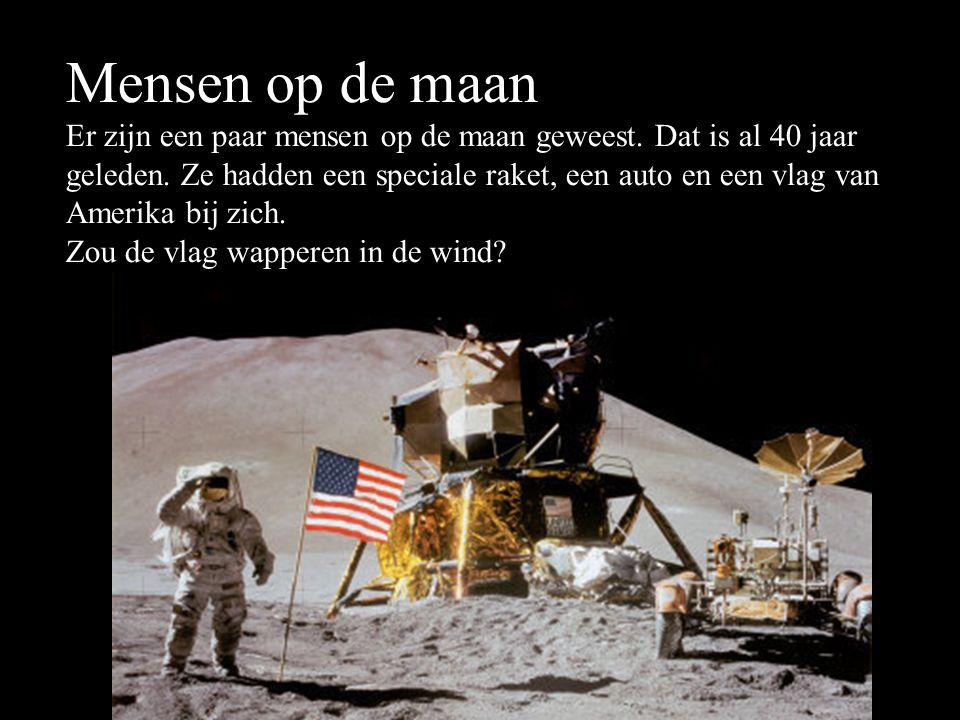 Mensen op de maan