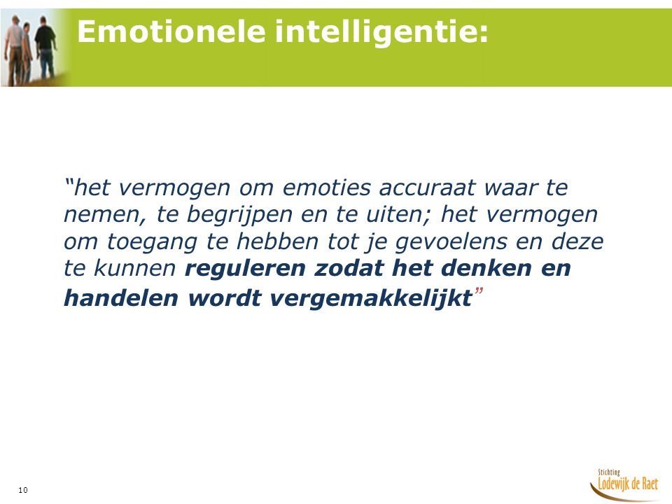 Emotionele intelligentie: