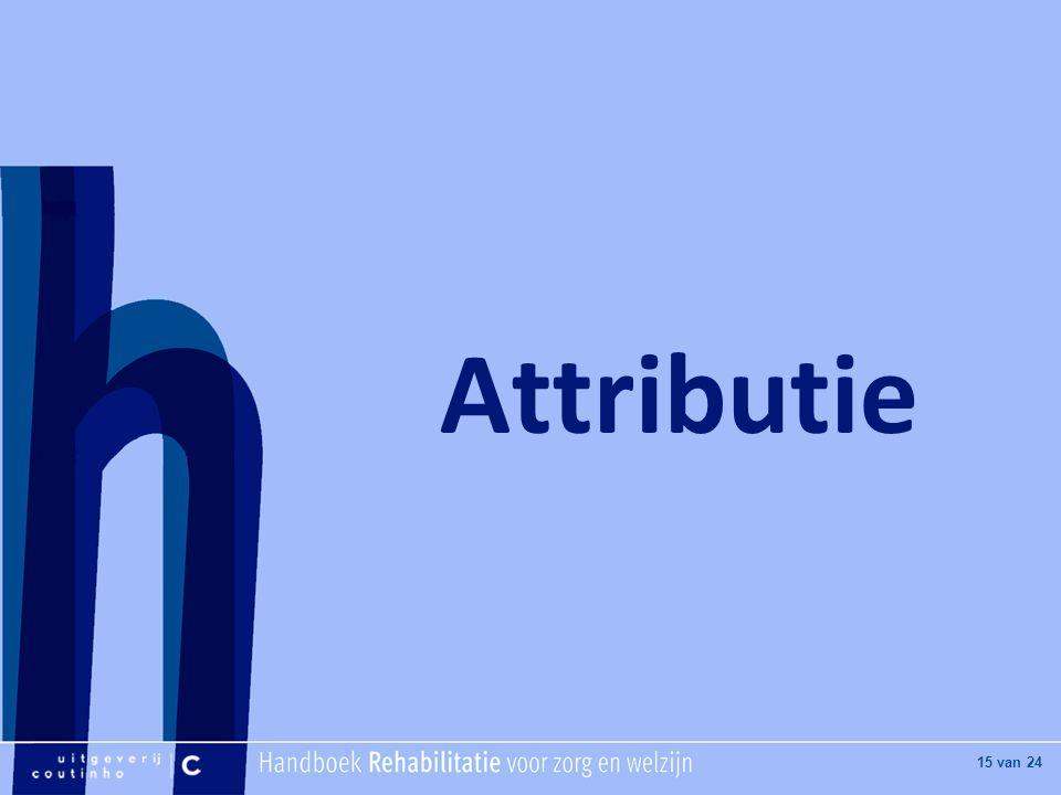 Attributie
