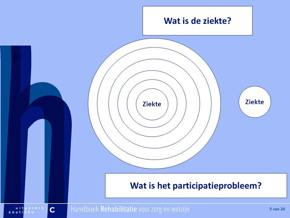 Wat is het participatieprobleem
