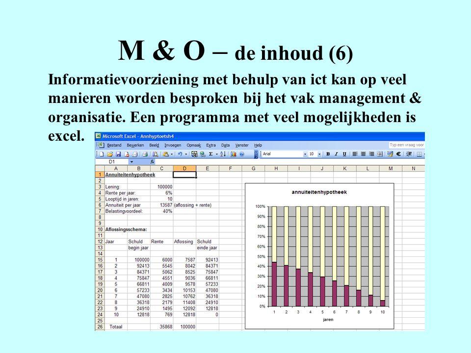 M & O – de inhoud (6)