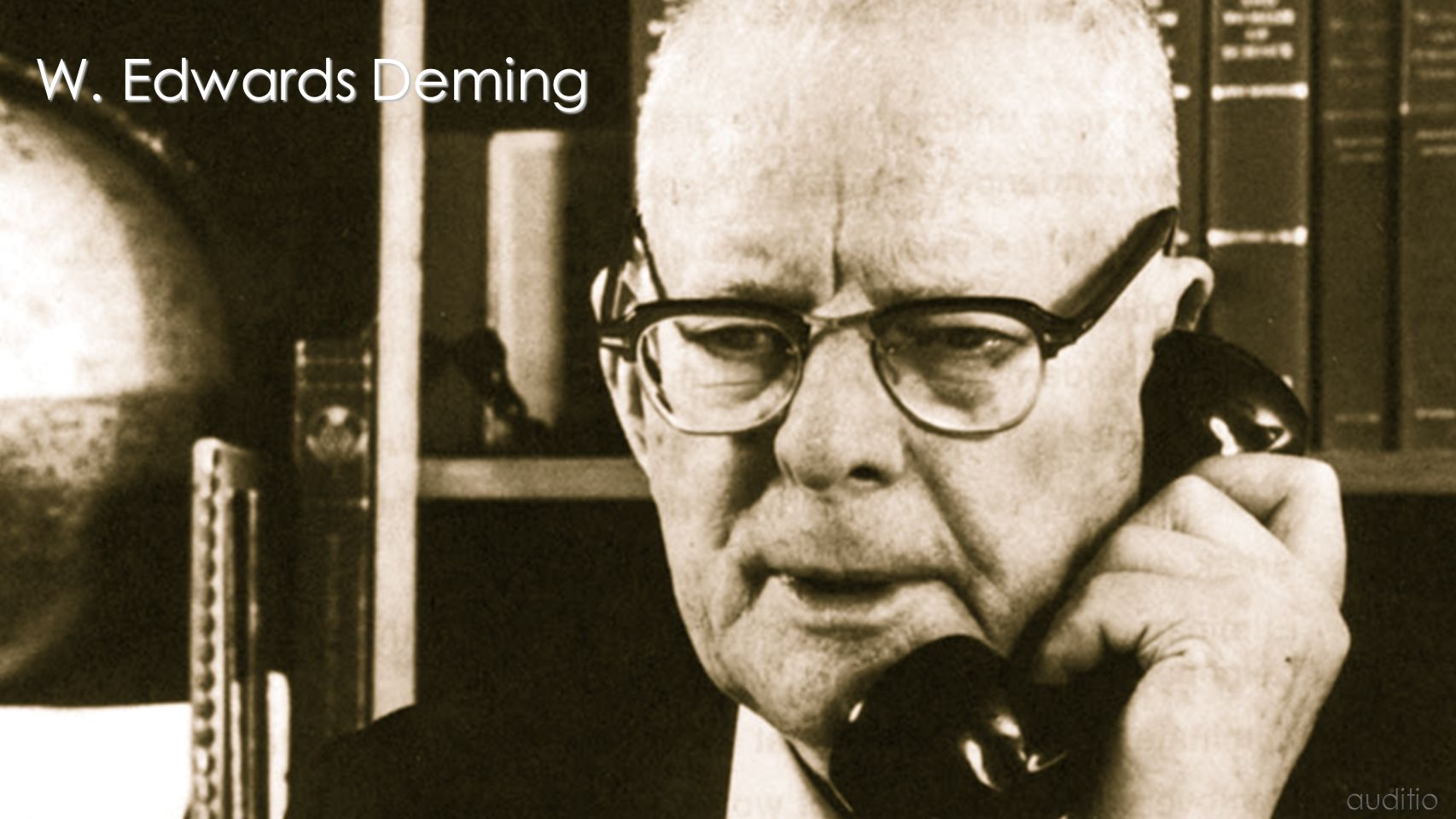W. Edwards Deming auditio