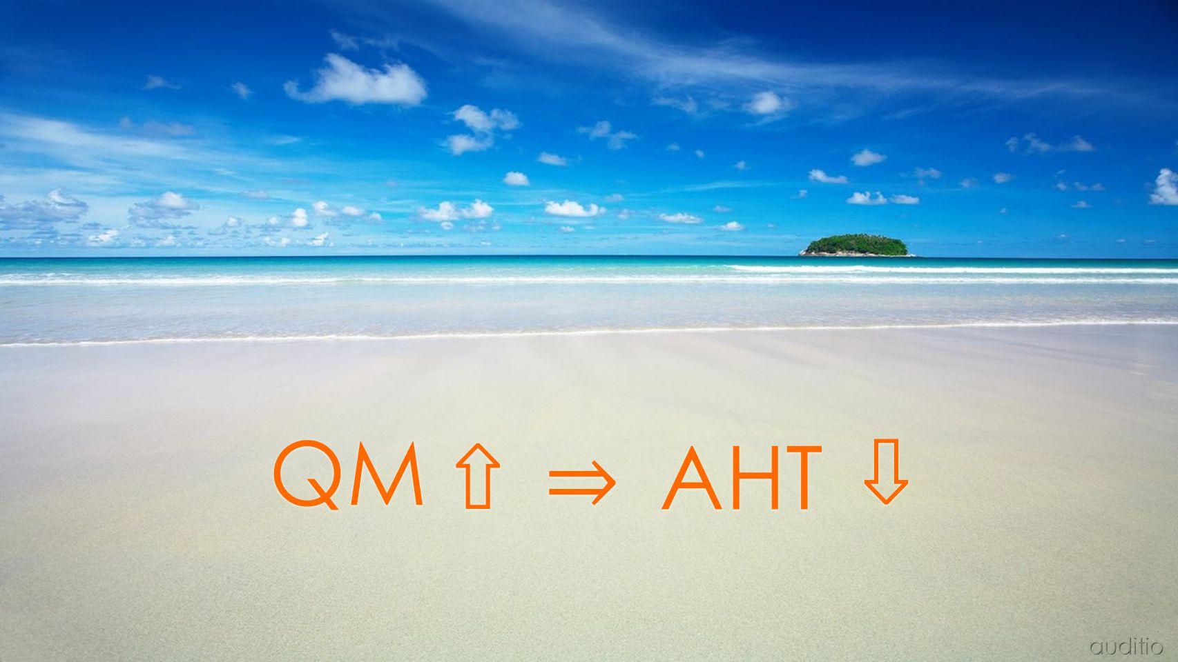 QM ⇧ ⇒ AHT ⇧ auditio