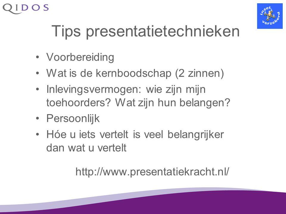 Tips presentatietechnieken