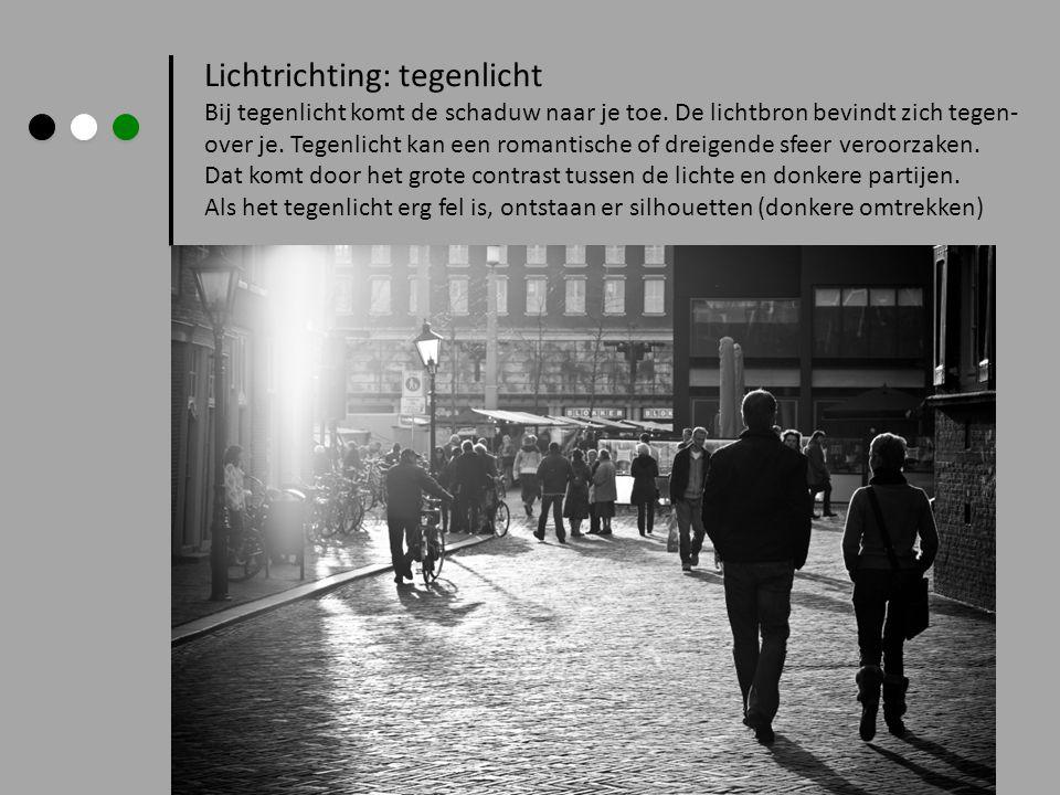 Lichtrichting: tegenlicht