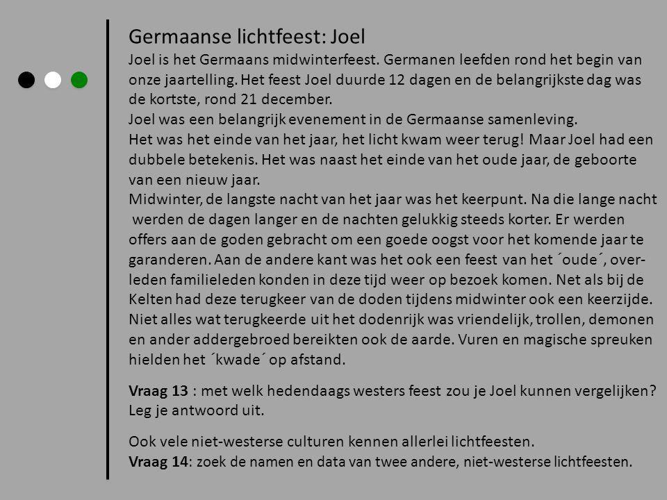 Germaanse lichtfeest: Joel