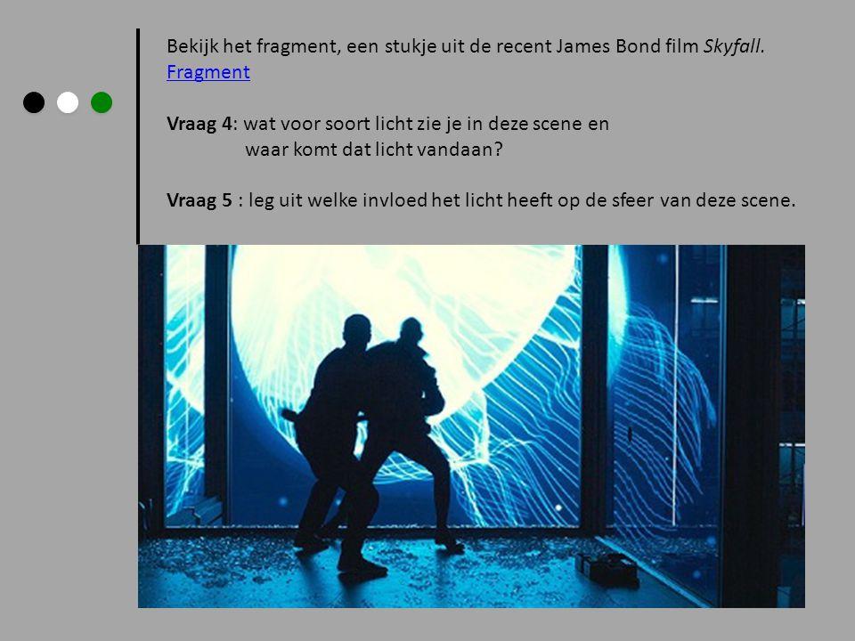 Bekijk het fragment, een stukje uit de recent James Bond film Skyfall.